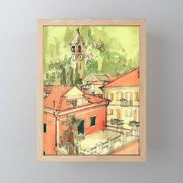BAVENO Framed Mini Art Print