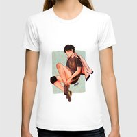 haikyuu T-shirts featuring Akaashi is pretty by NoranB