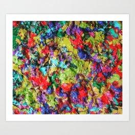 3d Drippage Art Print