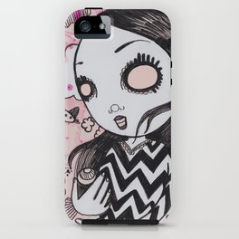 I lost my eyeballs. iPhone Case