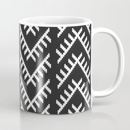 Stitched Arrows in Black and White Coffee Mug