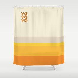 yo Shower Curtain