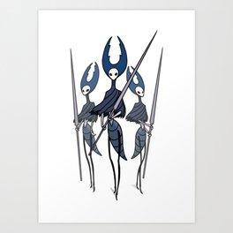 Hollow Knight - Mantis Lords Art Print