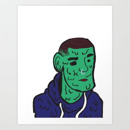 Sad Boy 2 Art Print
