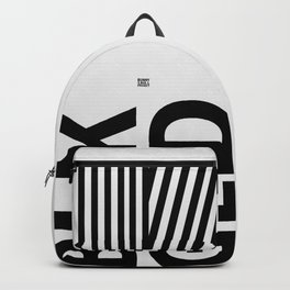 """blk gld """"white edition"""" Backpack"""