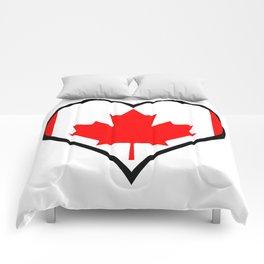 Love Canada Comforters