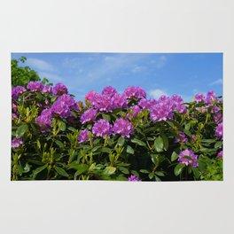 flower plants Rug