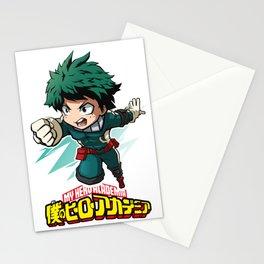 MHA Deku Stationery Cards