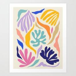 The Garden Inside Art Print