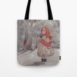Hiding gnome Tote Bag