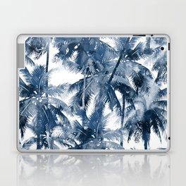 Blue palm trees Laptop & iPad Skin