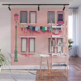 Laundry Venice Italy Travel Photography Wall Mural