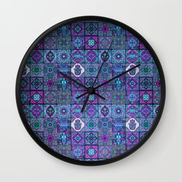 V14 Traditional Moroccan Pattern ART Design. Wall Clock