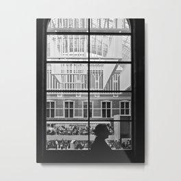 Amsterdam Window Metal Print