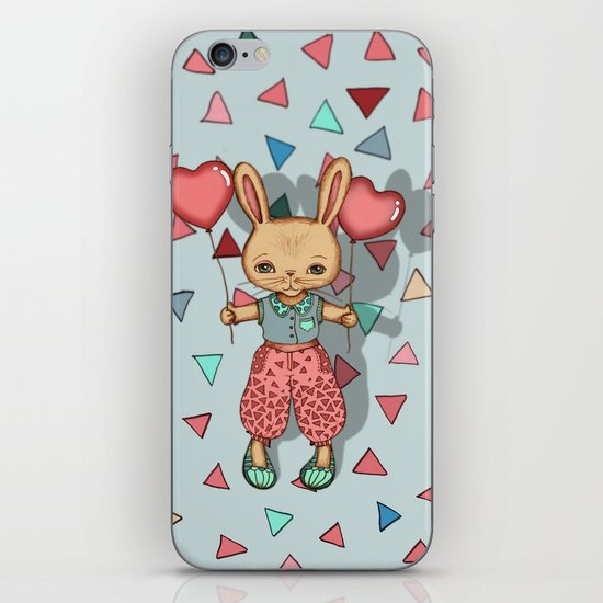SomeBunny Loves You iPhone & iPod Skin