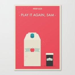 "Woody Allen ""Play it Again, Sam"" Canvas Print"