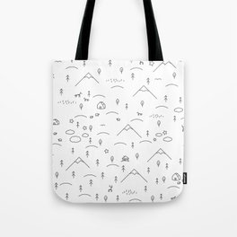 steppe Tote Bag