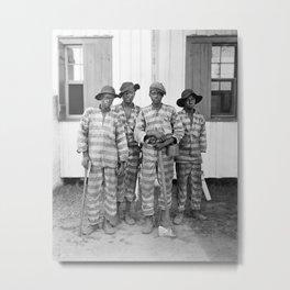 Southern Chain Gang Photo - 1903 Metal Print