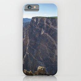 Black Canyon 4k America Gunnison National Park american landmarks Colorado USA iPhone Case