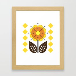 Sunny SunFlower Framed Art Print