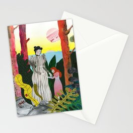 Anne Sullivan and Helen Keller Stationery Cards
