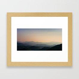 Distant Dreams, Fleeting Conciousness Framed Art Print