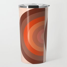 Abstraction_SUN_Rainbow_Minimalism_001 Travel Mug