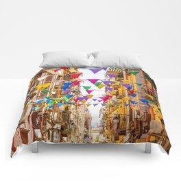 Naples, Italy Comforters