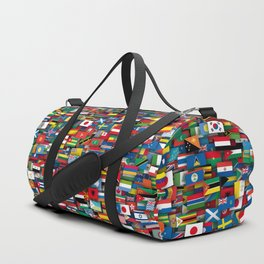 Flags of all countries of the world Duffle Bag