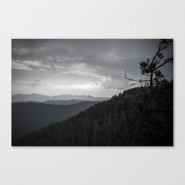 Mogollon Rim Canvas Print