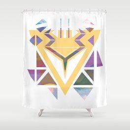 African Animal Print Shower Curtain