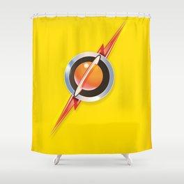 Flash's Broach Shower Curtain