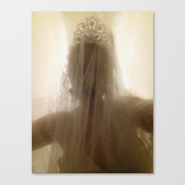 Ghost Bride Canvas Print
