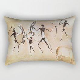 Cave art / Cave painting Rectangular Pillow