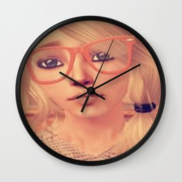 Hipster Roxy Wall Clock