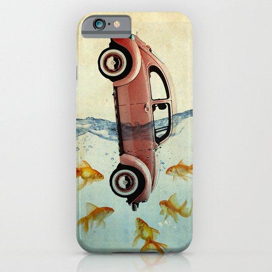 Bug and goldfish iPhone & iPod Case