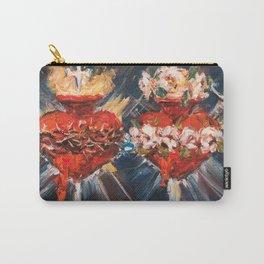 Sacratísimos corazones V Carry-All Pouch