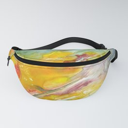 Being Pulled Abstract Fanny Pack