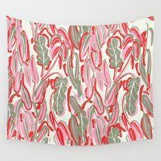 Messed Leaves Wall Tapestry