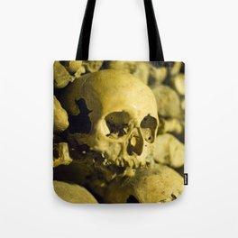 Wall of Bones Tote Bag