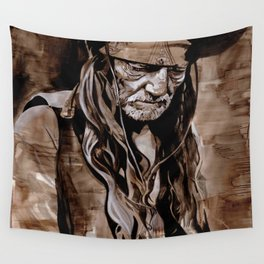 Sepia Willie Wall Tapestry