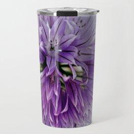 chives bloom Travel Mug