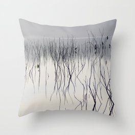 Waiting for the night Throw Pillow