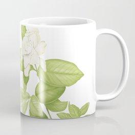 Gardenia Flower Coffee Mug