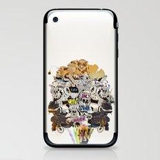 Drawing Collage #03 iPhone & iPod Skin