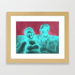Ainda é cedo amor Framed Art Print