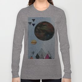 Moons and Mountains Long Sleeve T-shirt
