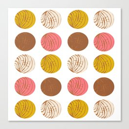 Conchas Canvas Print