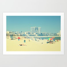 Coastal Living Art Print