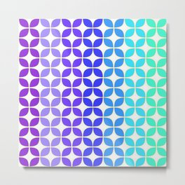 Quantile 6   Modern Abstract Colors Metal Print